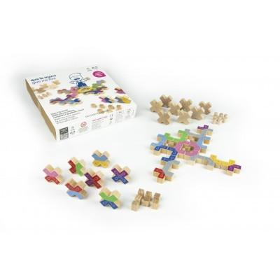 Ξύλινο επιτραπέζιο παιχνίδι - Κόλλα πέντε