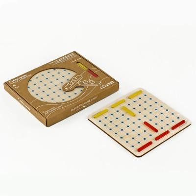 Ξύλινο επιτραπέζιο παιχνίδι - Ναυμαχία