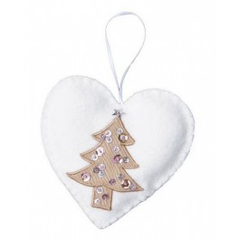 Hanging Heart for Christmas tree