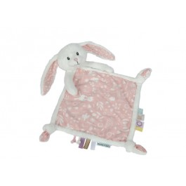 Doudou - Cuddle cloth pink bunny