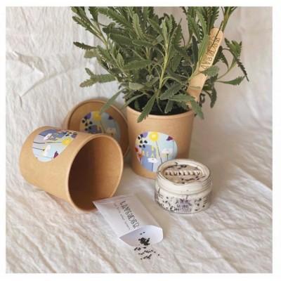 Growing Kit με φυσική πλαστελινη και σπόρους καλεντούλας