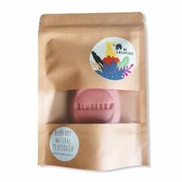 Natural Playdough Bluberry 150gr - Pink