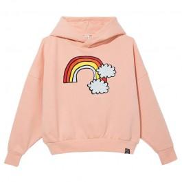 Oversized Hoodie - Pink Rainbow
