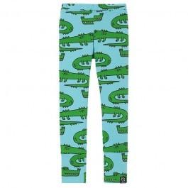 Leggings - Blue Crocodiles