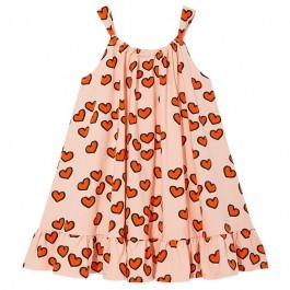 Bow dress - Pale Pink Hearts