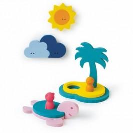 Bath Puzzle - Treasure island