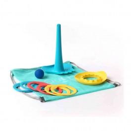 Σετ παιχνιδιού σε τσάντα παραλίας με πολυεργαλεία