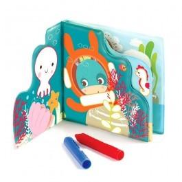 Bath Color Book with crayons