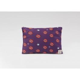 Θήκη για μάσκες - Lips purple