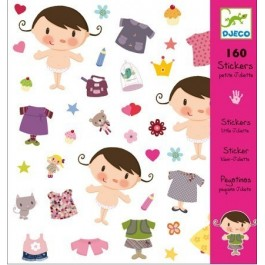 Sticker set 160 pieces - Little Baby