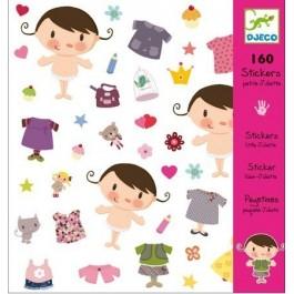 Σετ με 160 stickers - Little Baby