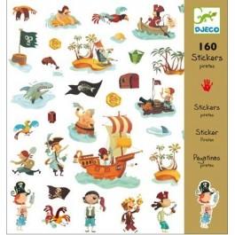 Sticker set 160 pieces - pirates