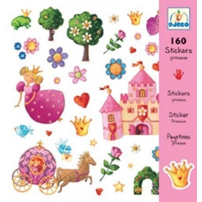 Σετ με 160 stickers - Πριγκίπισσες