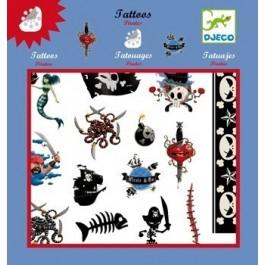 Set with tattoos - pirates