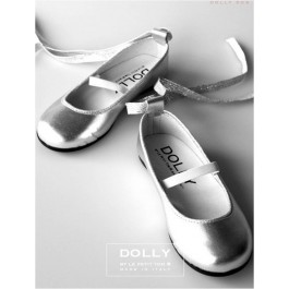 Dolly Girl Ballerinas Silver