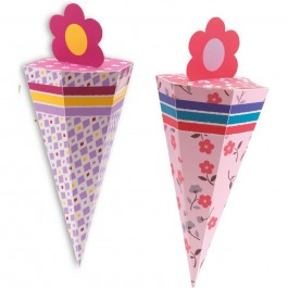 Cones for party - Flowers