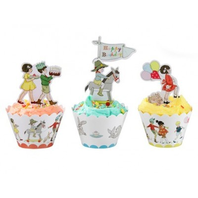 Belle & Boo Cup Cake Wraps