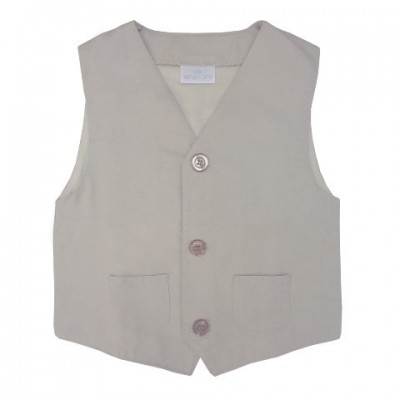 Organic Vest with pockets