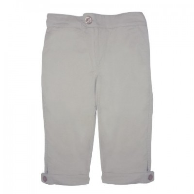 Organic Summer Cropped Trousers
