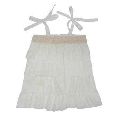 Organic Ruffled Dress
