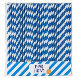 Out of the Blue Straws