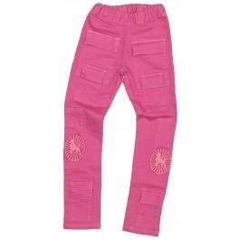 Stretch Pink Pocket Denim
