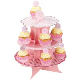 Pink n Mix Cake Stand