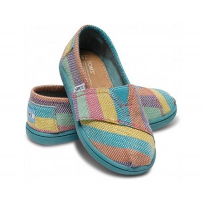 Pink Tropic TOMS shoes