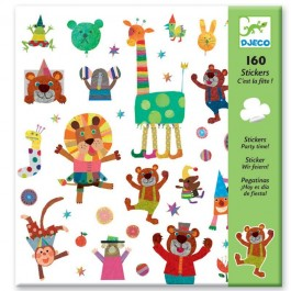Set 160 stickers - Party