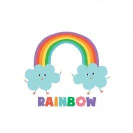 Παιδικό Τατουάζ Rainbow
