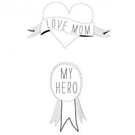 Παιδικό Τατουάζ Love Mum