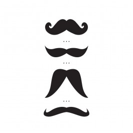 Παιδικό Τατουάζ Moustache