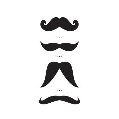 Kid tattoo Moustache