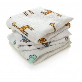 Musy Swaddle Jungle Jam- 3 Pack