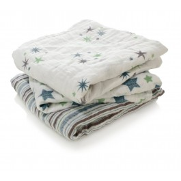 Musy Swaddle Prince Charming- 3 Pack
