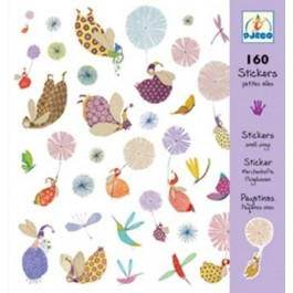 Set of 160 stickers - Fairies