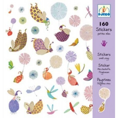 Set of 160 stickers - Fairies