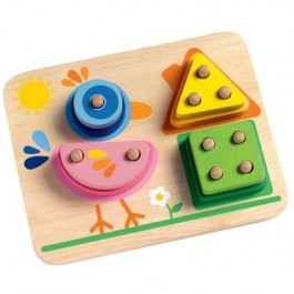 Djeco Eduludo Shapes, Geometric
