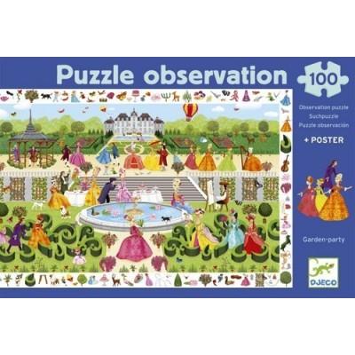 Djeco Garden Party 100pce puzzle