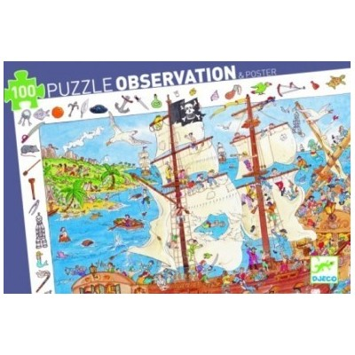 Pirates Observation Jigsaw Puzzle - 100 pieces