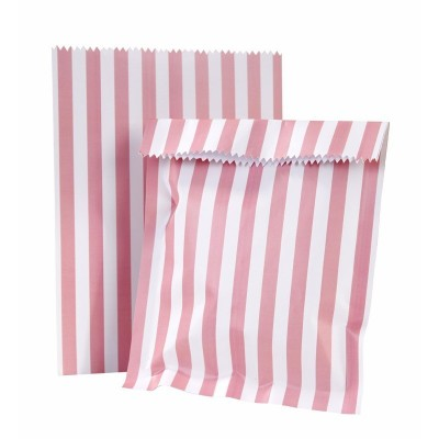 Pink & Mix Treat Bags & Stickers