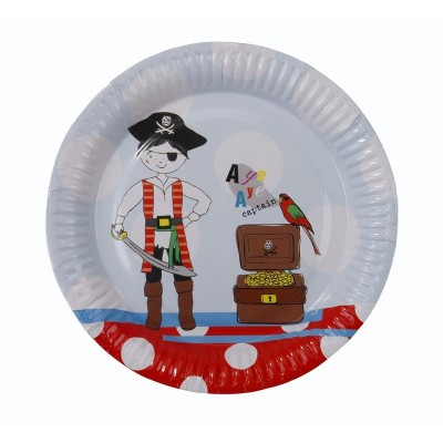 Πιάτα για πειρατικό πάρτυ