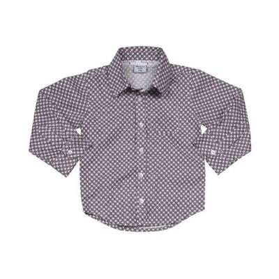 Organic shirt Plum