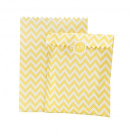 Yellow Treat Bags & Stickers
