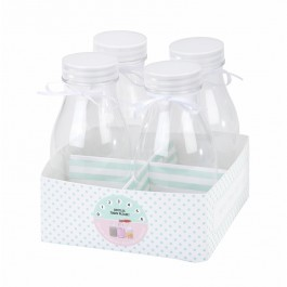 Mini Bottles - Set of 4