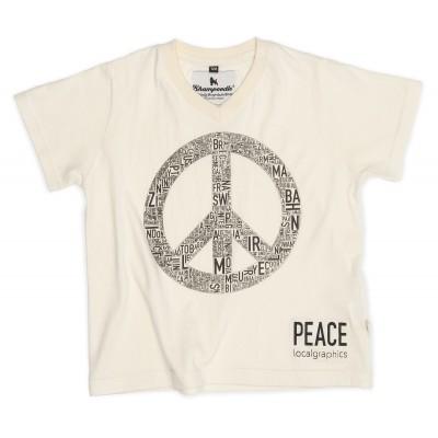 Map Tee Peace