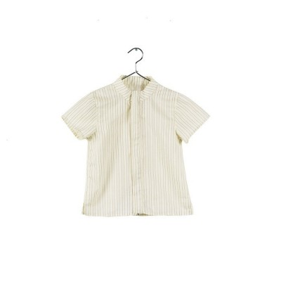 Vintage Blouse with golden stripes