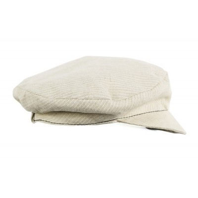 Flat Beret Linen