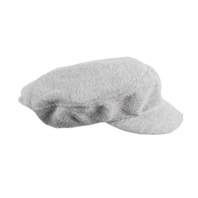 Flat Beret Knit Cotton
