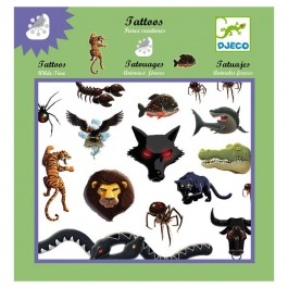 Tattoos Wild Animals